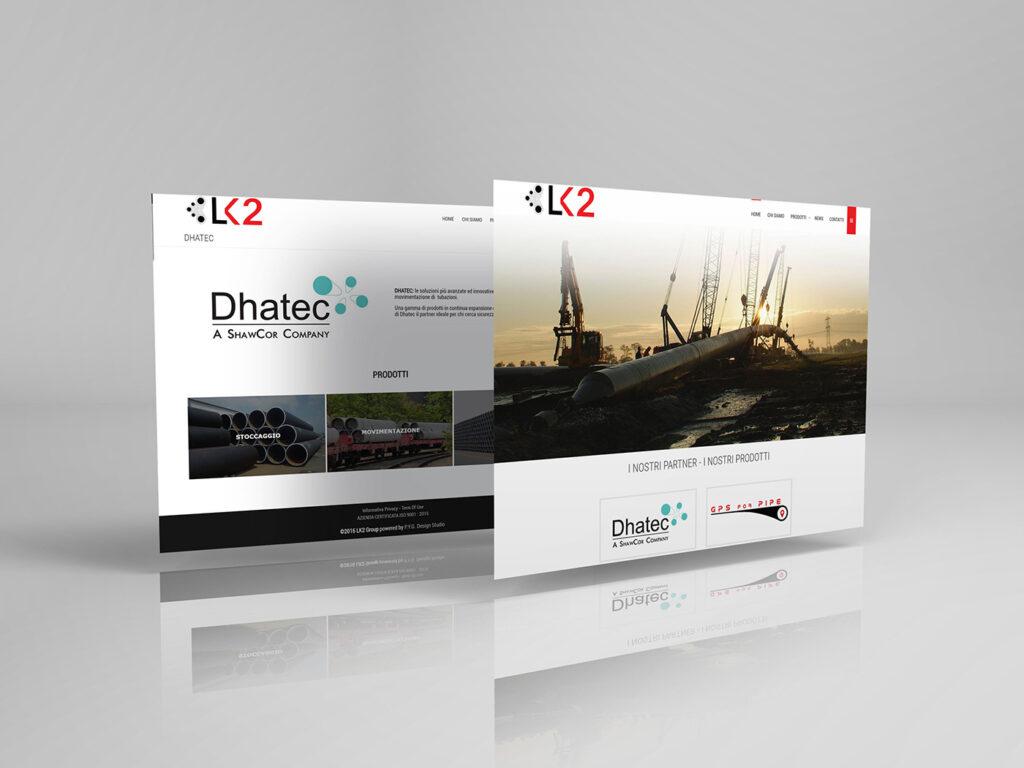 Lk2 sito web aziendale
