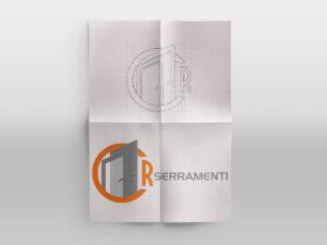 Grafica Logo CR Serramenti