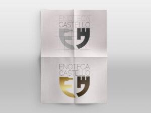 Grafica Logo Enoteca Castello