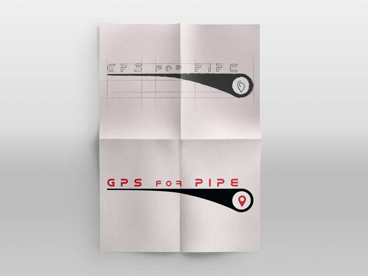 Grafica Logo Gps For Pipe