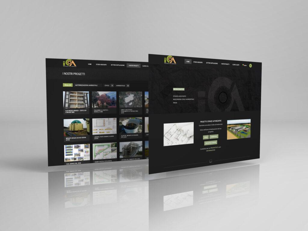Sito Web Responsive Studio Ingegneria Civile Ambientale