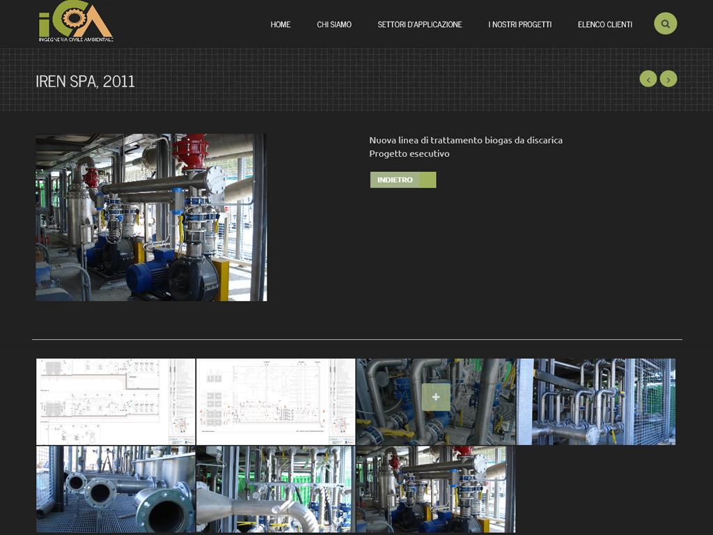 Sito Web Studio Ingegneria Civile Ambientale