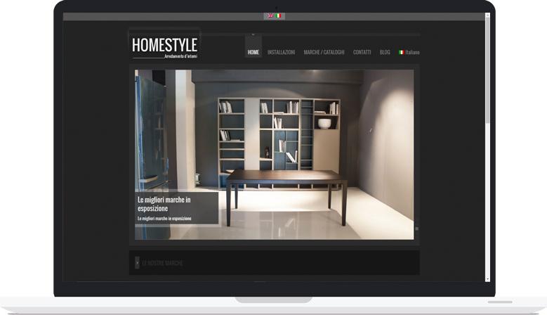 Sito Web Responsive Homestyle Arredamenti