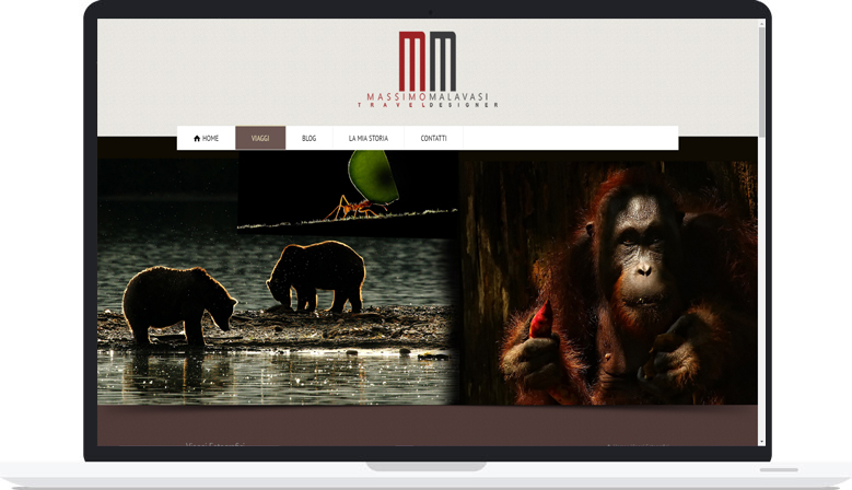 Sito Web Massimo Malavasi Travel Designer