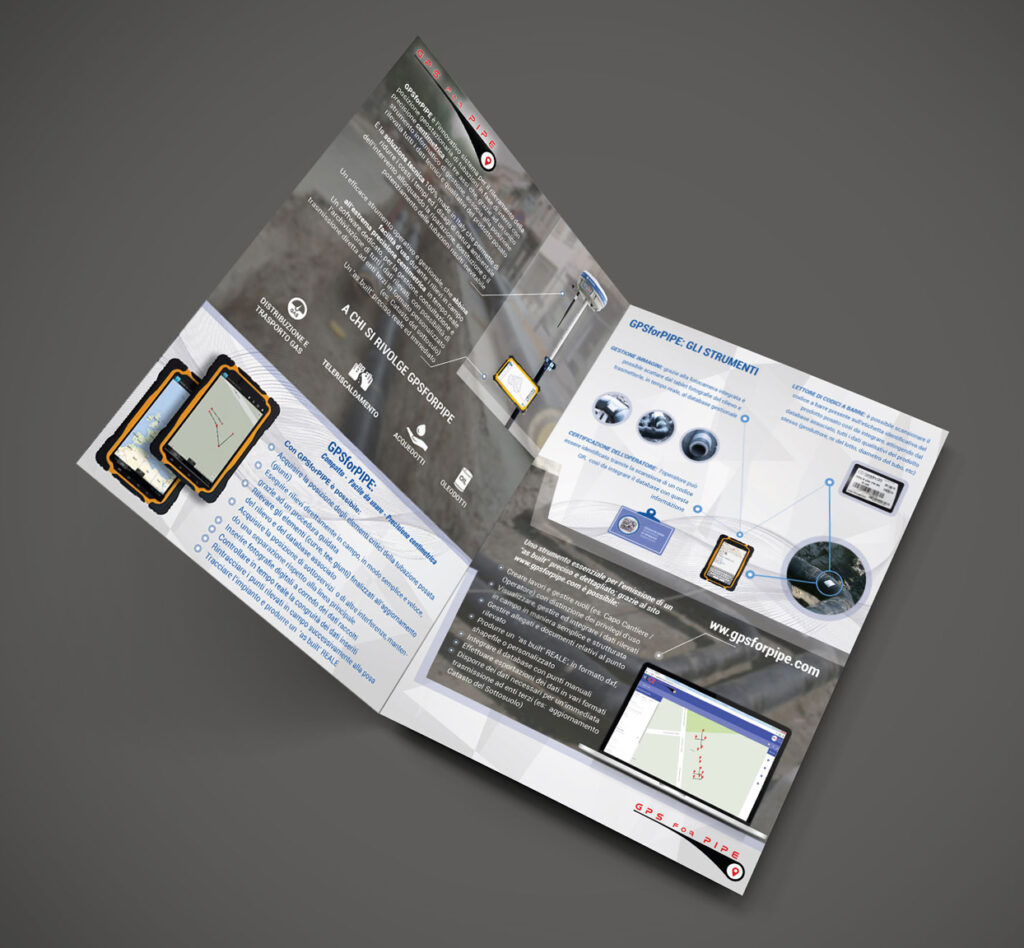 Grafica Brochure GPS For Pipe