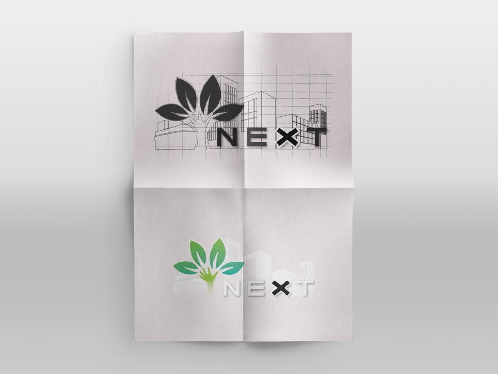 creazione logo next