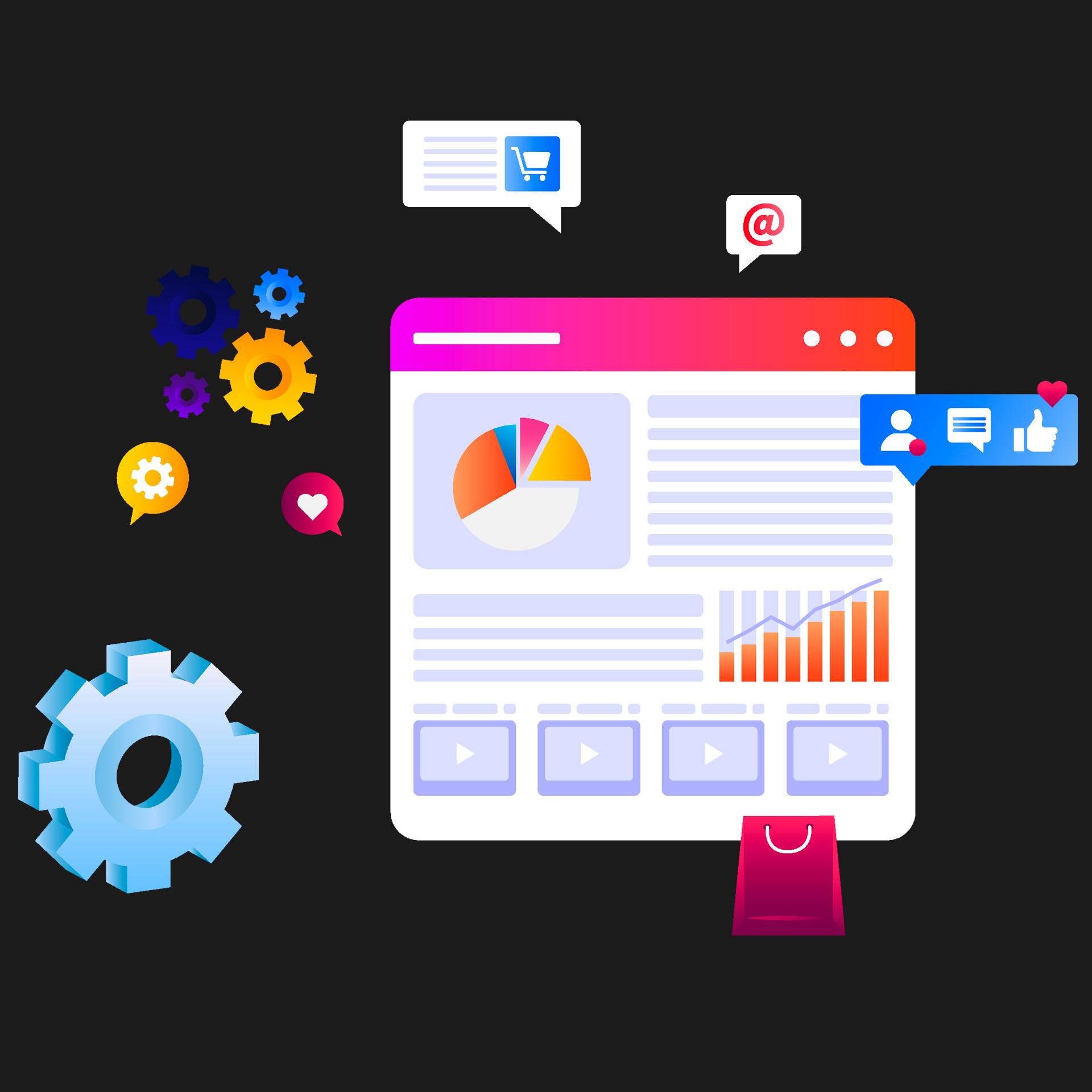 SEO, Advertising, Digital Marketing e Social