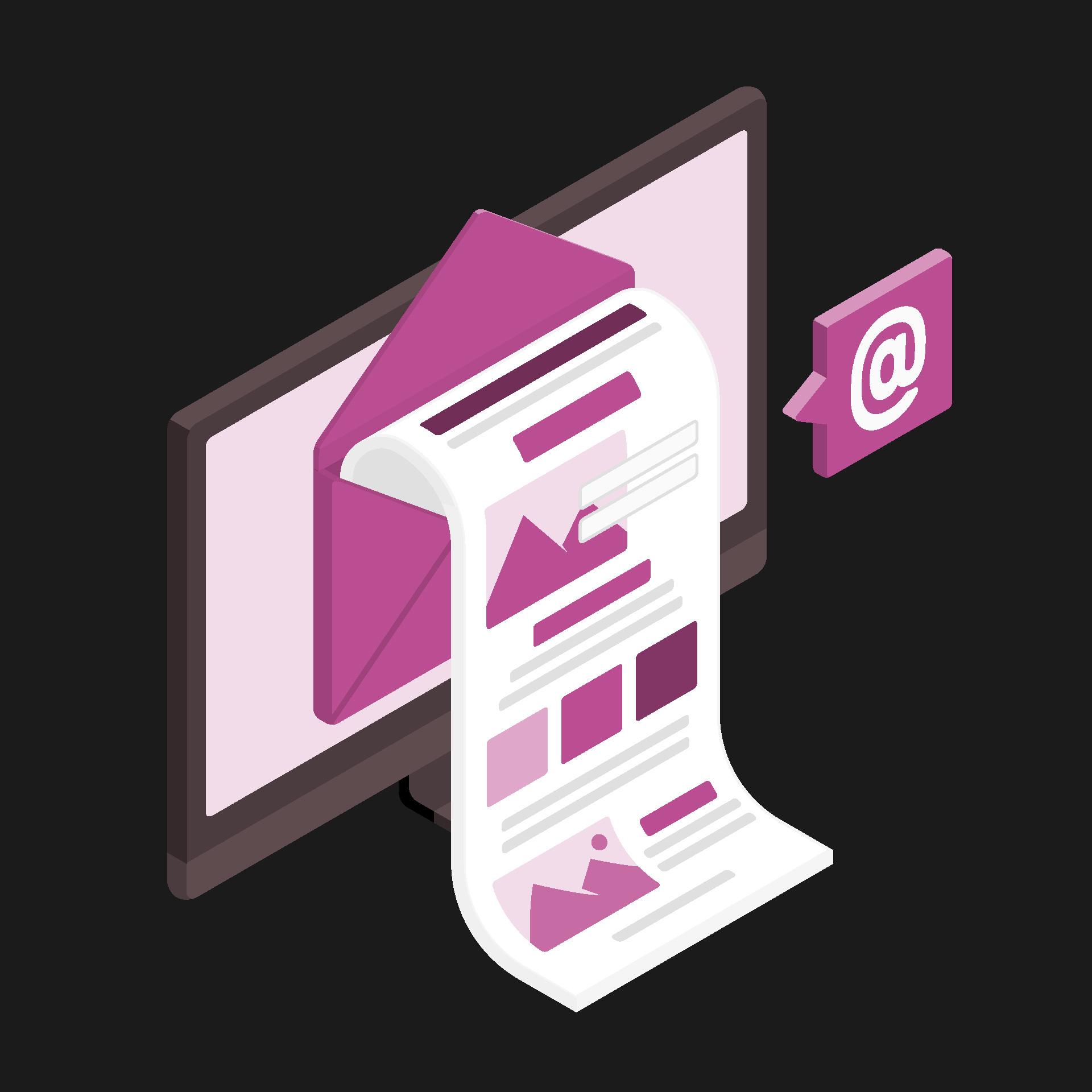 Creazione e Invio Newsletter grafica personalizzata