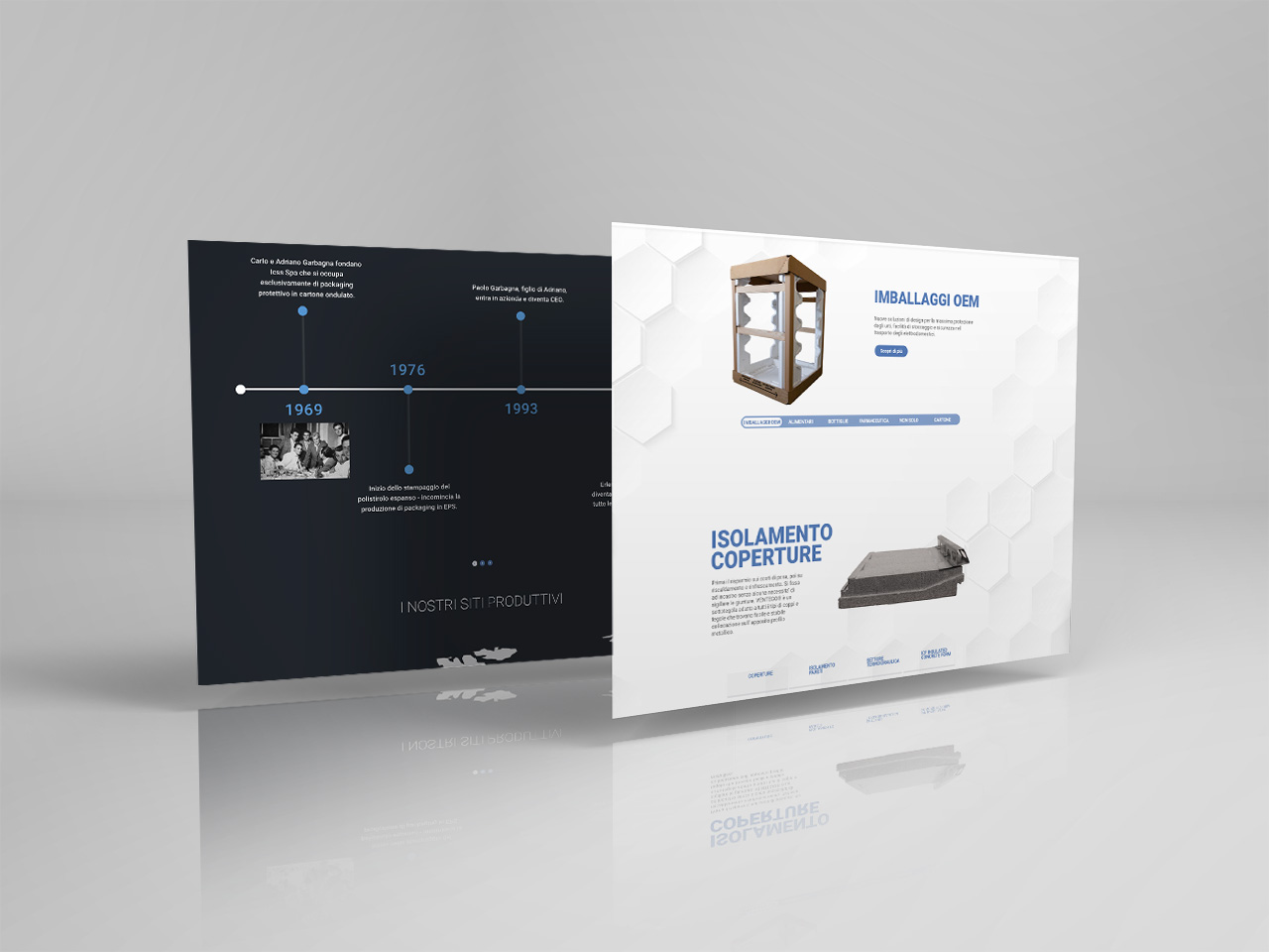 sito web icss group packaging