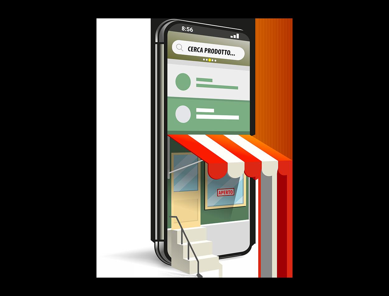 creazione sito web ecommerce professionale webagency grafica responsive