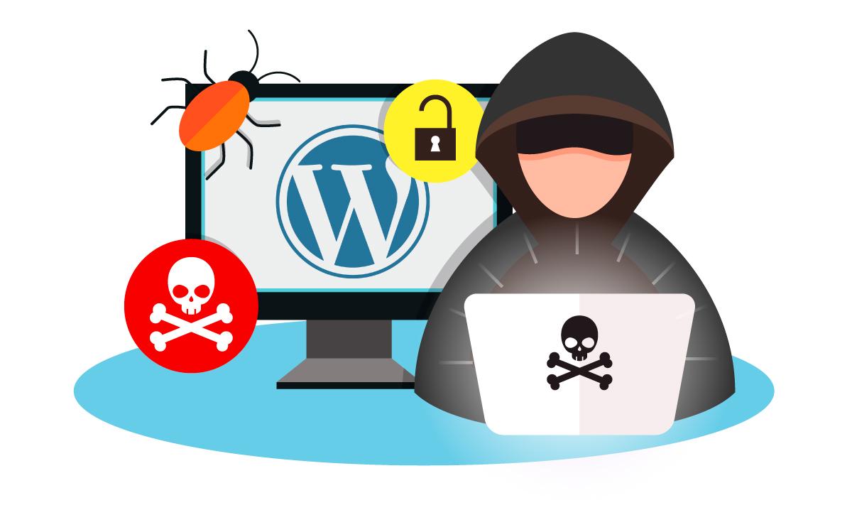 wordpress hackerato rimozione virus malware